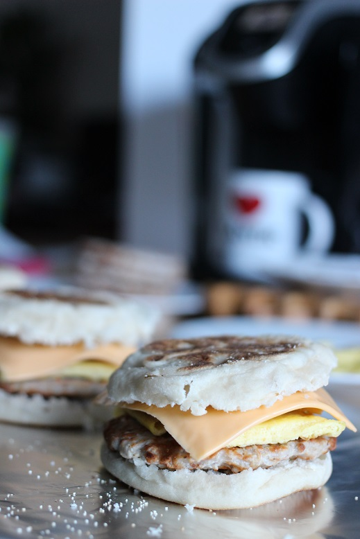 Make-Ahead Breakfast Sandwiches