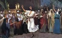 Daud menari bersukacita