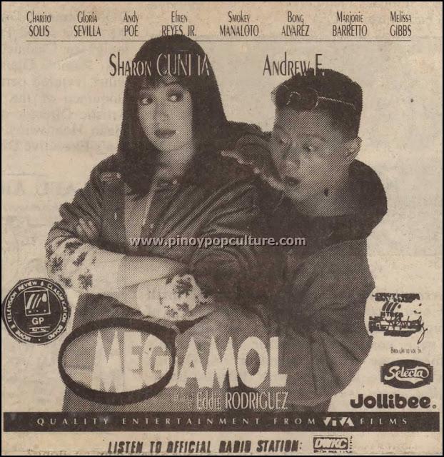 Megamol, Sharon Cuneta, Andrew E