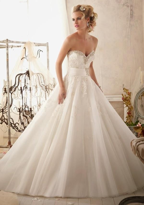 Mori Lee Ball Gown Wedding Dresses : Wedding dress mori lee g