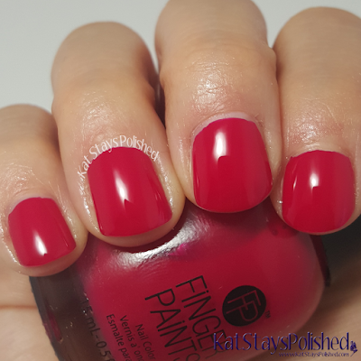 FingerPaints Tis the Season to Sparkle - Romanesque Rouge | Kat Stays Polished