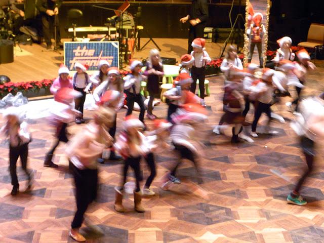 Weihnachtliche Dekoration Hannover Congress Centrum für Weihnachts-Galaball Tanzschulen Bothe