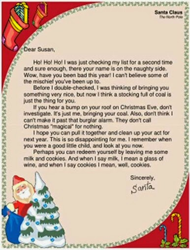 A POP CULTURE ADDICTS GUIDE TO LIFE Letters To Santa