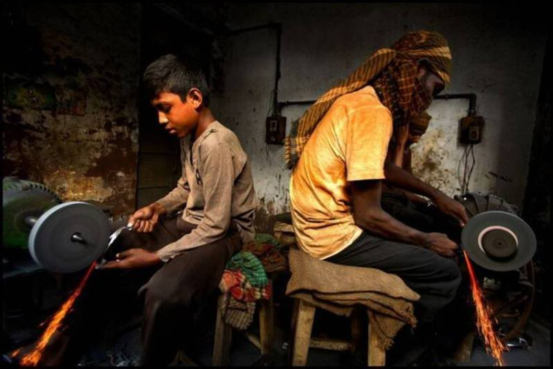 ken foundation society child labour causes of child labour