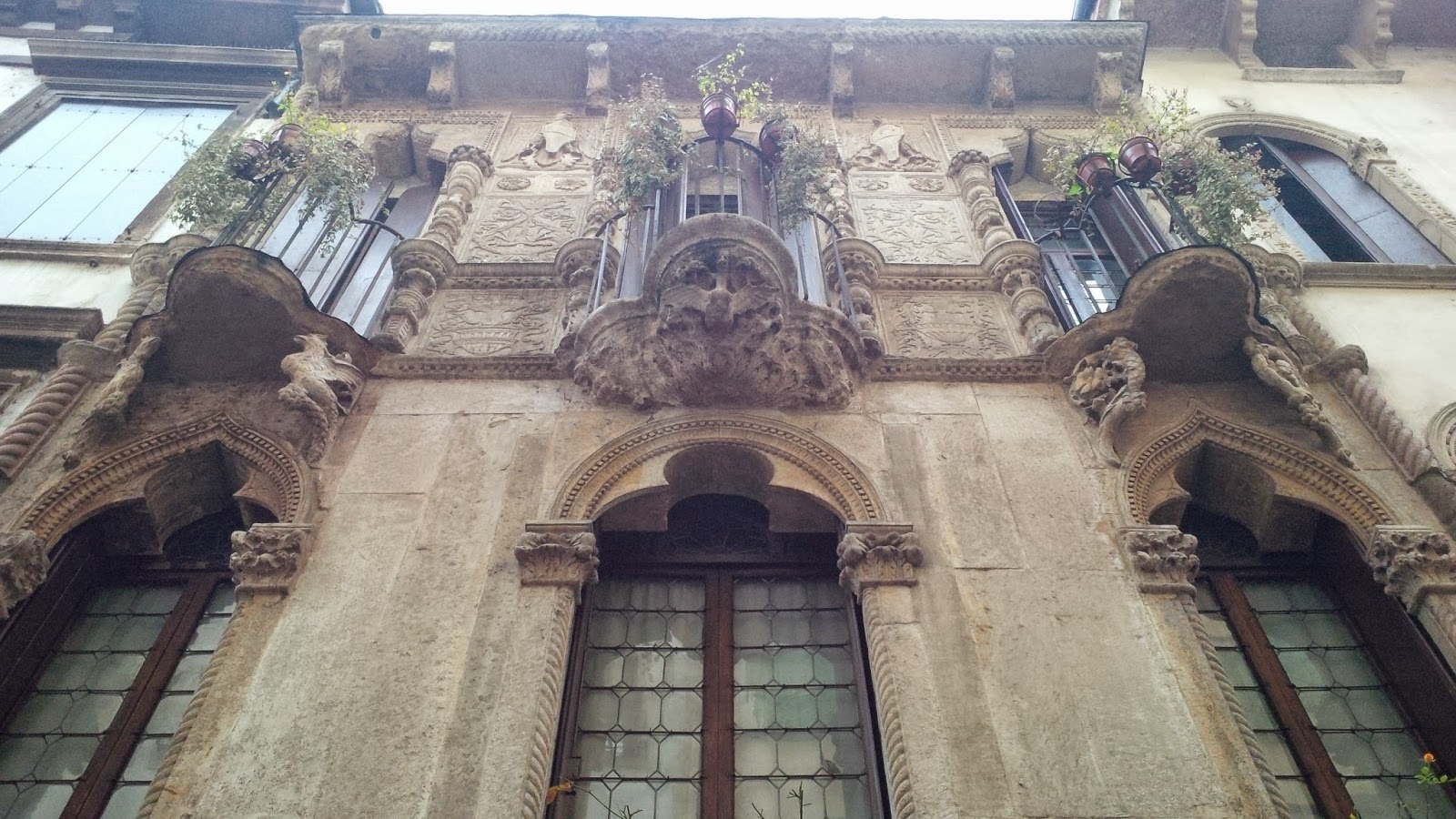 The Facade of Antonio Pigafetta's House in Vicenza
