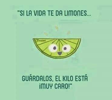 Si vida te da limones