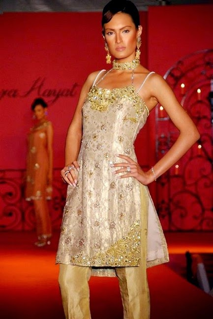 Hajra Hayat Designer Dress Collection 2014
