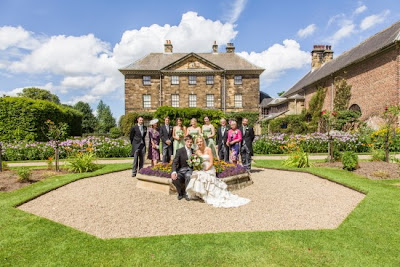 Ormesby Hall, formal wedding pictures
