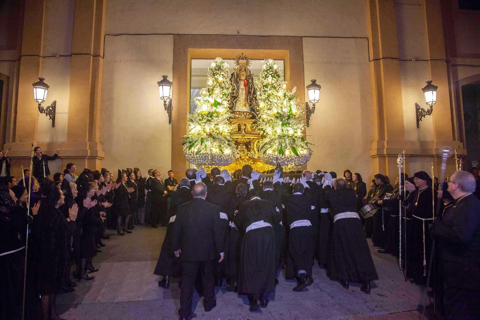 Trono Soledad Semana Santa Cartagena Murcia Arturo Serra escultura 18