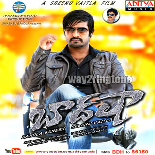 southringtones: NTR baadshah Telugu Mobile Ringtones Free Download