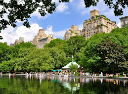 Pond at Central Park
