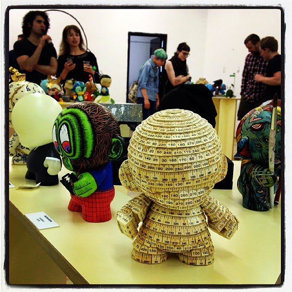 espionage gallery - unboxed: first vinyl toy show - 18/10/12