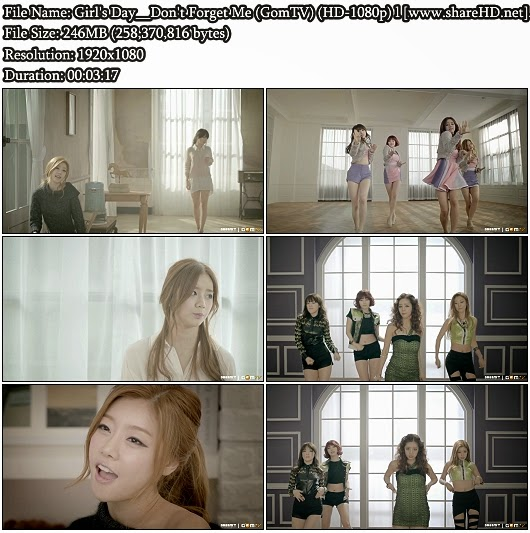 Download MV Girl's Day (걸스데이) - Don't Forget Me (나를 잊지마요) (GomTV Full HD 1080p)