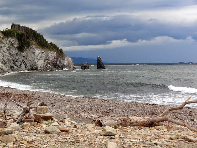 The Cabot Trail Beach