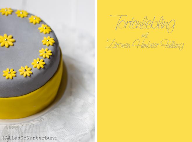 gelbe Blüten aus Fondant