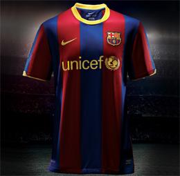 camiseta FC Barcelona 2011