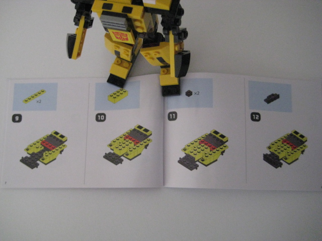 Chcses Blog Toy Review Kre O Transformers Basic Bumblebee