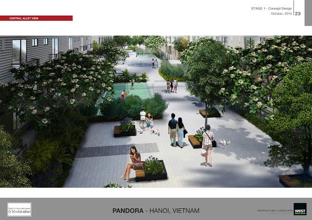 vườn xanh pandora