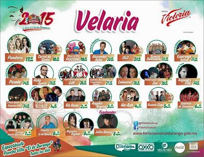 FENADU VElaria 2015 Ve conciertos y Venta de boletos primera fila