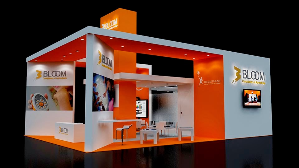 Stand bloom ancora virtual - Stand para libros ...