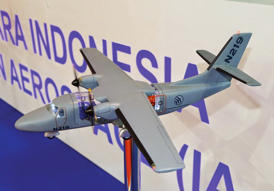 PTDI dapat pesanan 75 pesawat N219