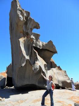 Что ветер и время делает со скалами? Австралия,  путешествие