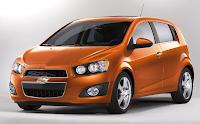 2012 Chevrolet Sonic Orange