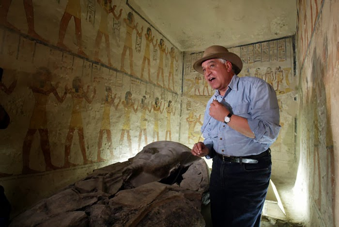 Zahi Hawass y la tumba de Ramsés