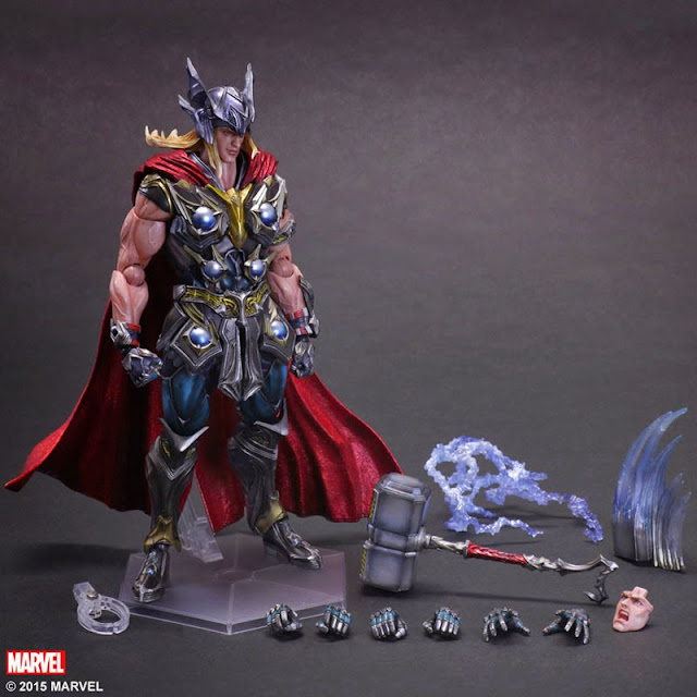 marvel action figure Play Arts Kai Variant Thor