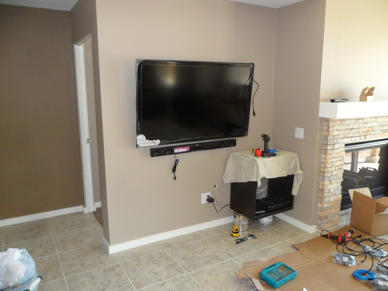 Flat Screen TV Wall Cabinet