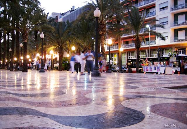 La explanada Alicante