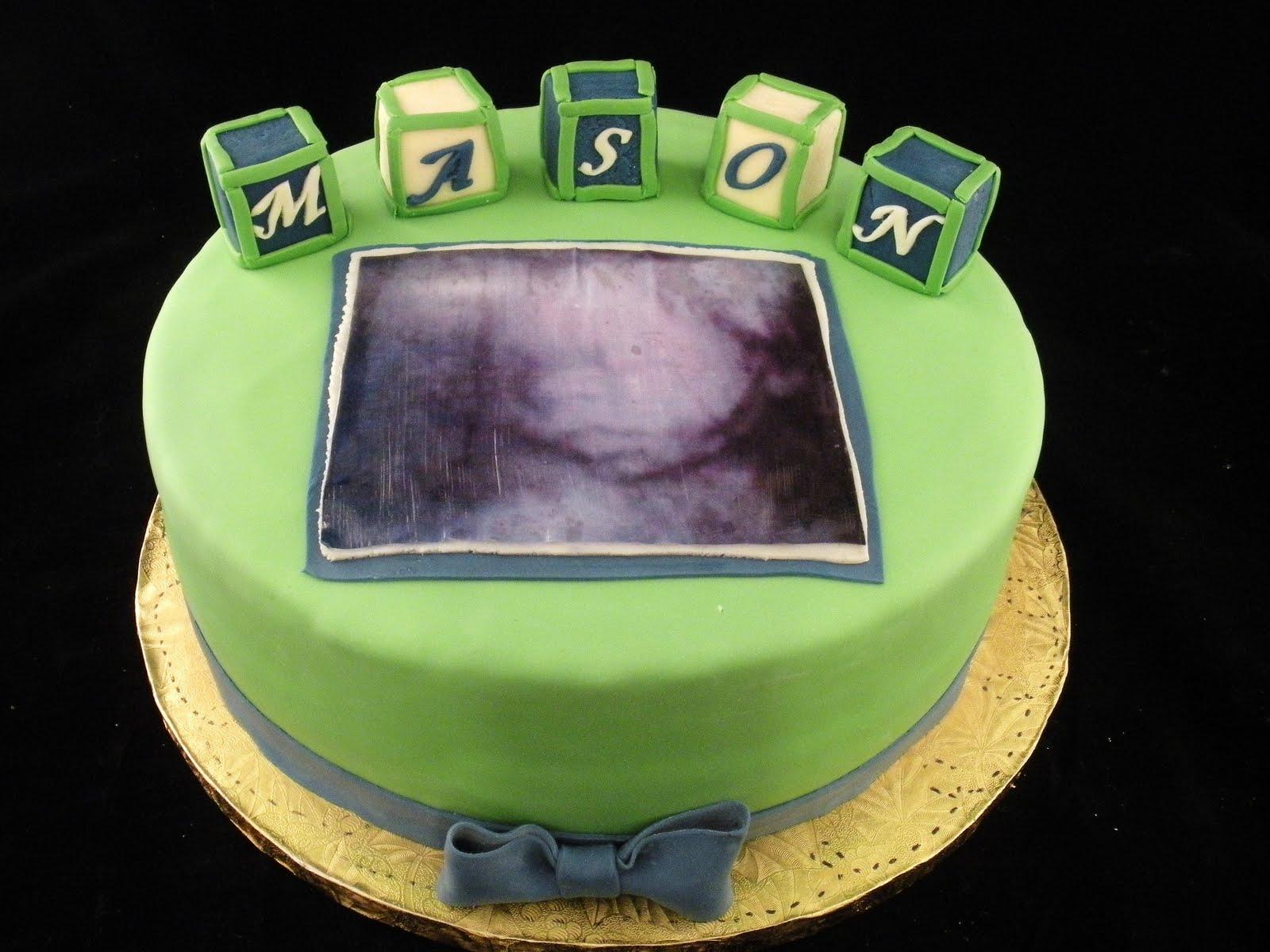 Sugar Spice Sweets Ultrasound Cake
