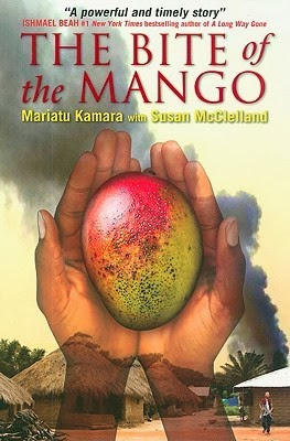 Cover of The Bite of the Mango by Mariatu Kamara and Susan McClelland