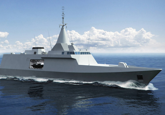 Gowind class Littoral Combat Ship (image : DCNS)