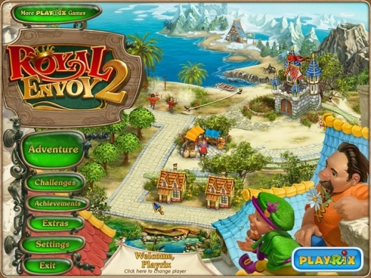 Royal Envoy 2 Collector's Edition Main Menu