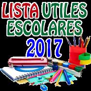 LISTAS DE UTILES 2017