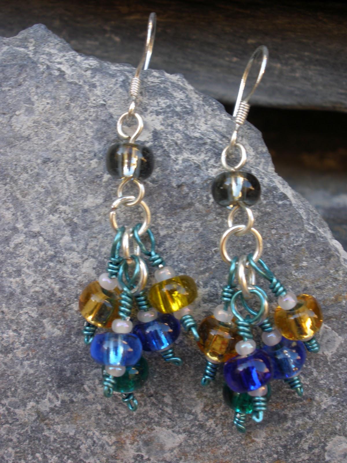Chloe Louise Handmade Jewellery: Earrings - a bunch of my handmade ...
