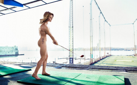 ESPN 2013 Body Issue Golfer Naked