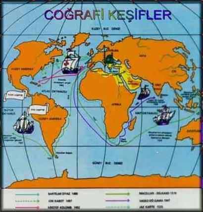 Büyük coğrafi keşifler