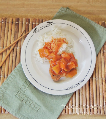 Frugal Foodie Mama: Slow Cooker Sweet & Sour Pork Loin Chops