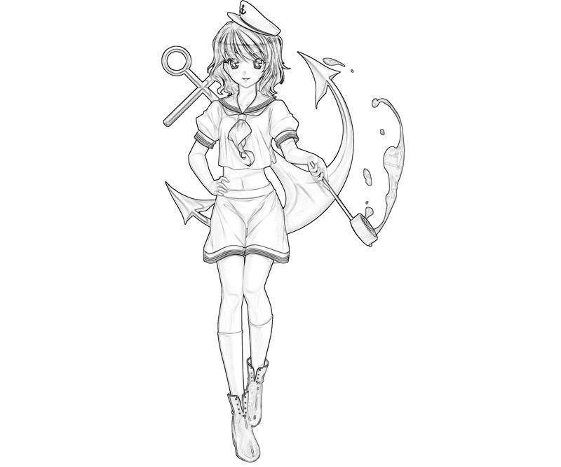 minamitsu-murasa-character-coloring-pages