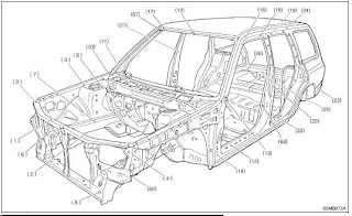 2001 Subaru Forester Engine Mount Diagram