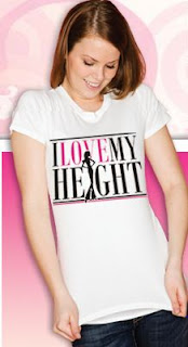 womens tall tshirts at i love my height