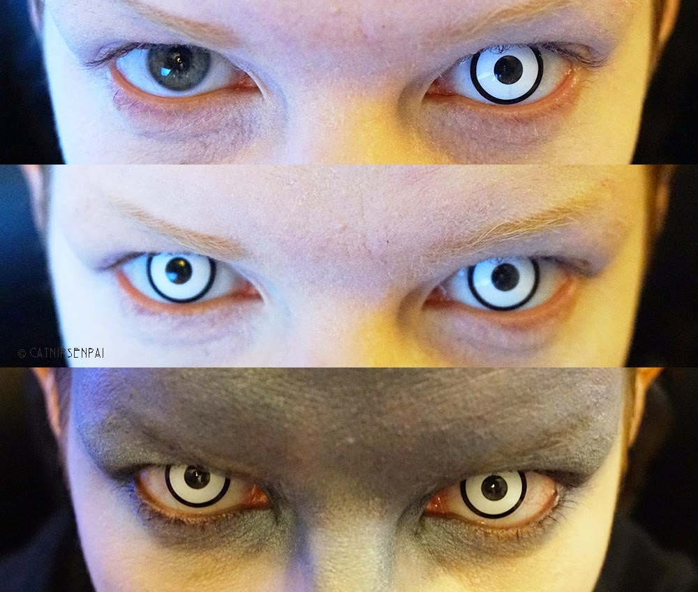 Scary contact lenses
