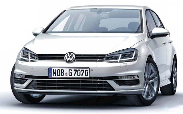 VW Golf 7 2016 - facelift