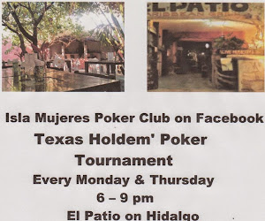 Texas Hold Em Poker at El Patio Mon & Thurs 6-9