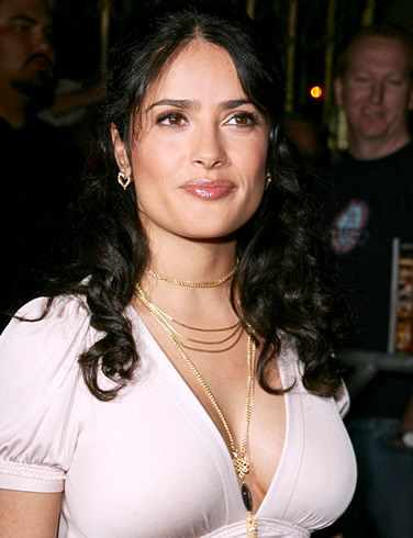 salma hayek breastfeeding pictures. makeup Salma Hayek