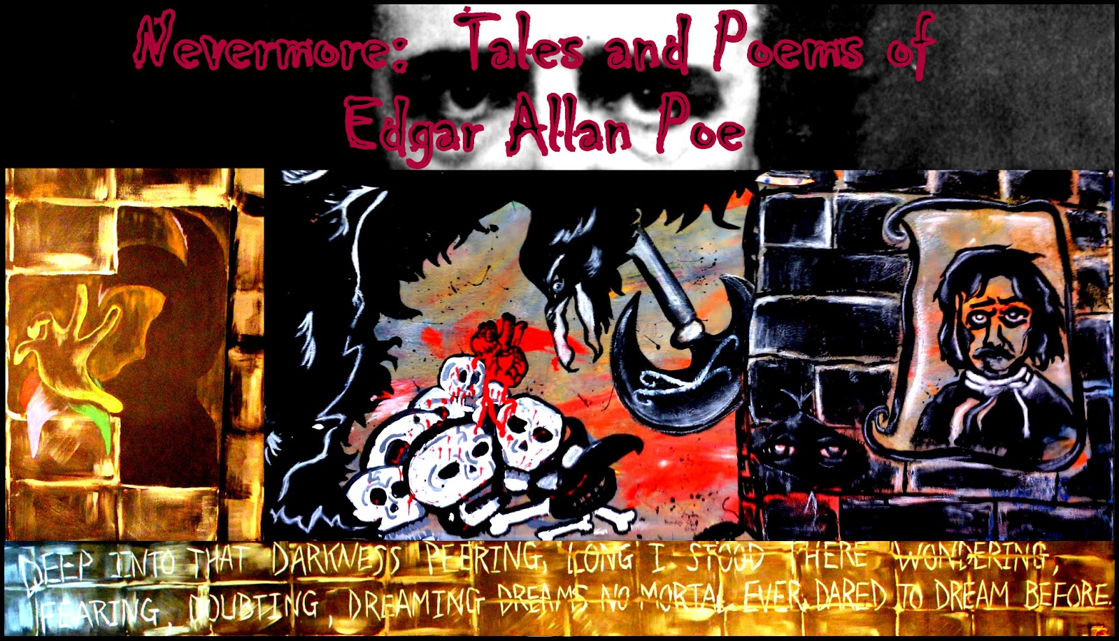 the strange life of edgar allan poe just like his writings Edgar allan poe: dividing audiences for nearly two centuries  the notices of the life of washington, and sallust we presume will prove highly pleasing to mr paulding and professor anthon .