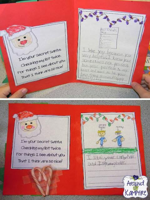 Secret Santa of Kind Words cards