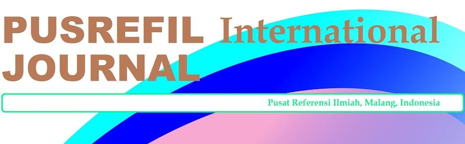 Jurnal Internasional PUSREFIL
